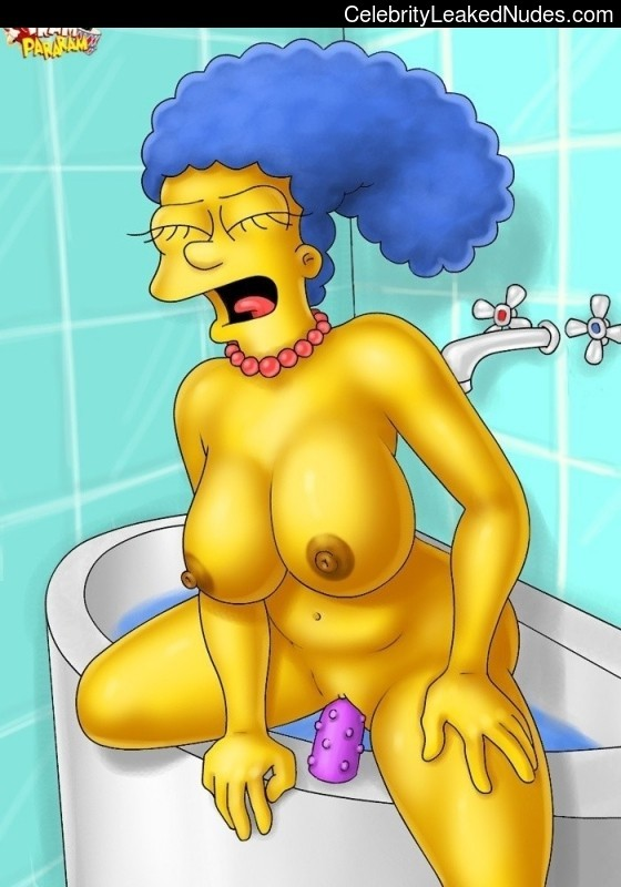 The Simpsons celebrity nude pics
