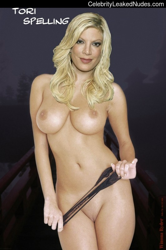 From this Tori spelling fake nude porn