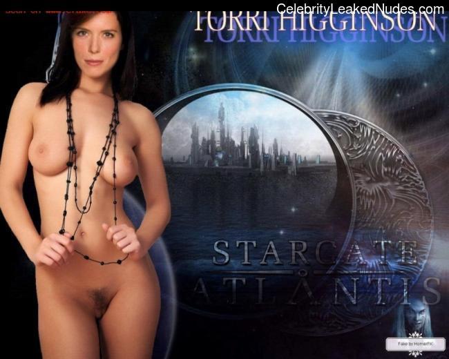Curiously stargate atlantis nude fakes