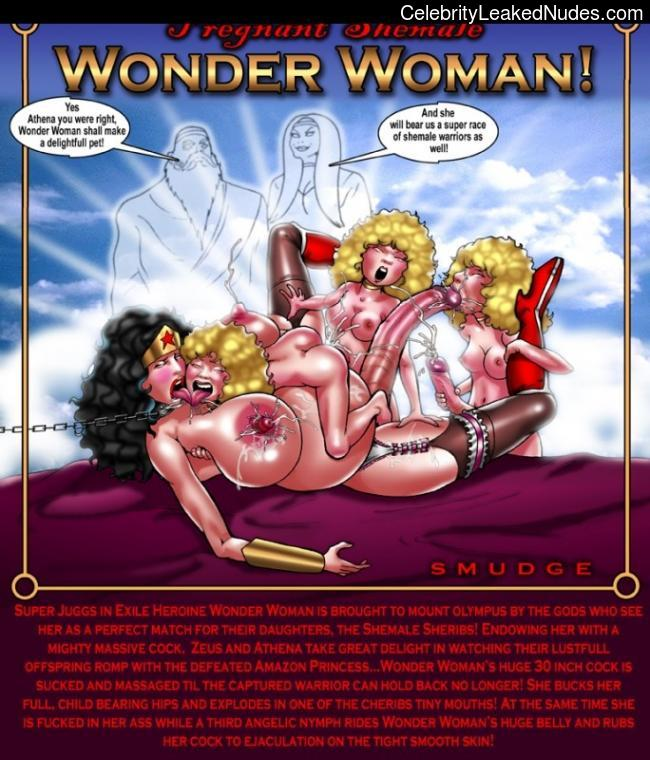 Naked celebrity picture Wonder Woman 8 pic