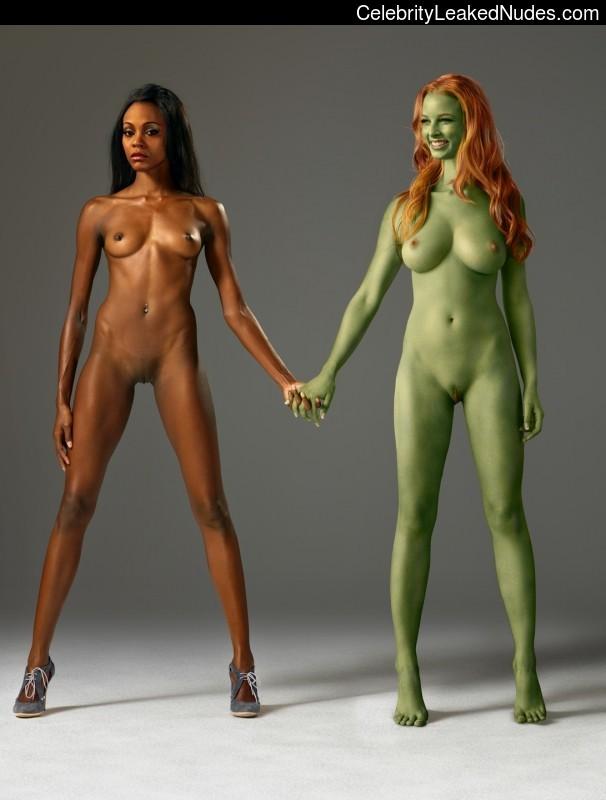 Nude Celeb Pic Zoë Saldana 2 pic