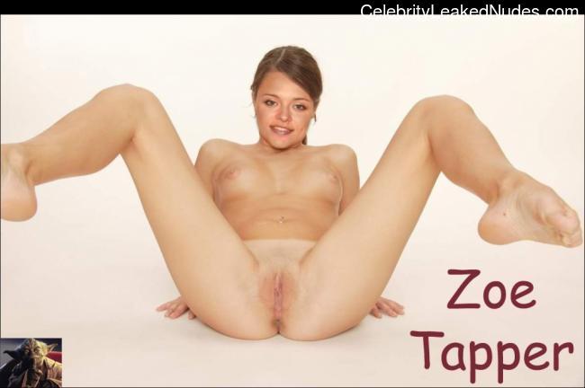 Zoe Tapper fake nude celebs