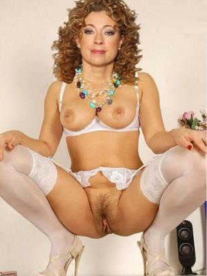 Alex Kingston celebs nude