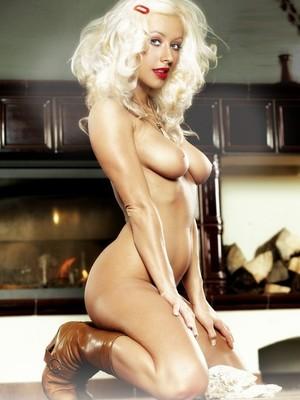 Christina Aguilera naked celebrity