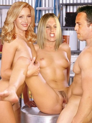 Friends nude with How straight