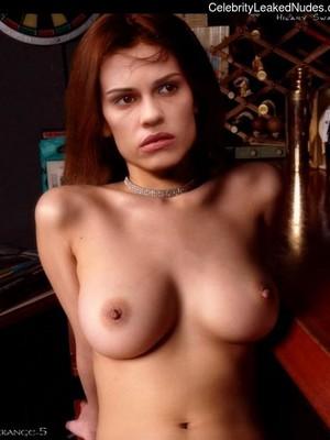 Swank naked hilary Hilary Swank: