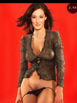Jennifer Saunders  nackt