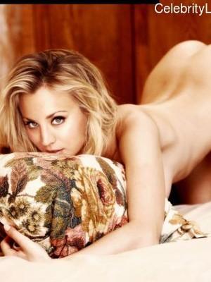 Naked Celebrity Kaley Cuoco 18 pic