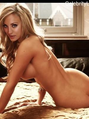 Free nude Celebrity Kaley Cuoco 24 pic