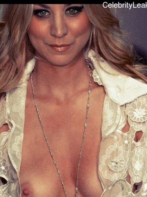 Nude Celebrity Picture Kaley Cuoco 6 pic