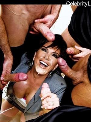Nackt kris jenner Kardashian and
