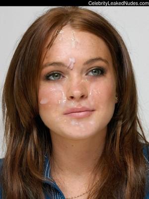 Lindsay Lohan naked celebrities