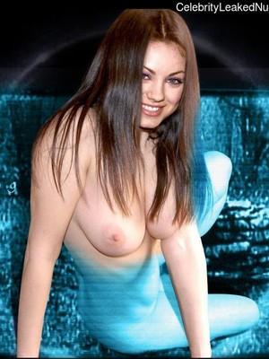 Mila Kunis naked celebritys