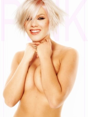 Pink naked celebrities