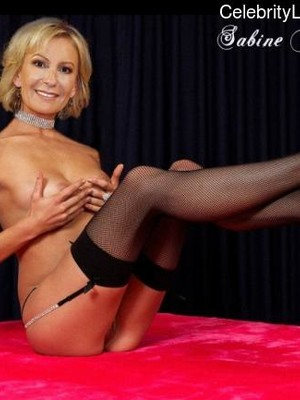Free nude Celebrity Sabine Christiansen 27 pic