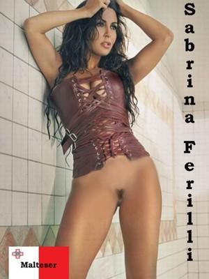 Sabrina nackt Ferilli Nude video