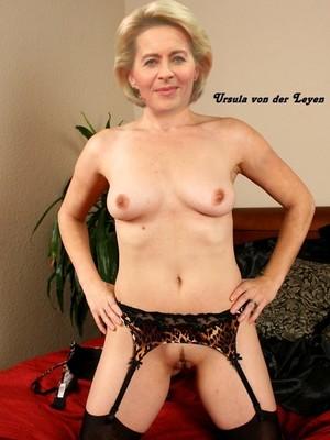 Leyen der ursula naked von Ursula von