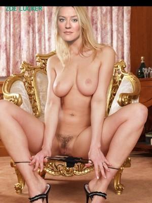 Nackt Zoe Lucker  Zoe lucker