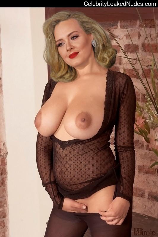 adele fake nude