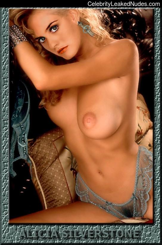 alicia silverstone fake naked