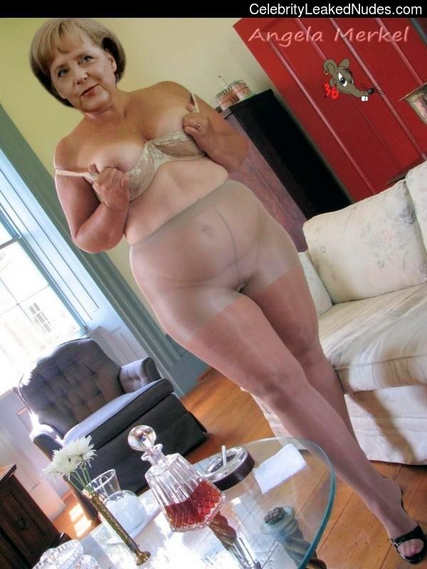 Pics angela merkel nude