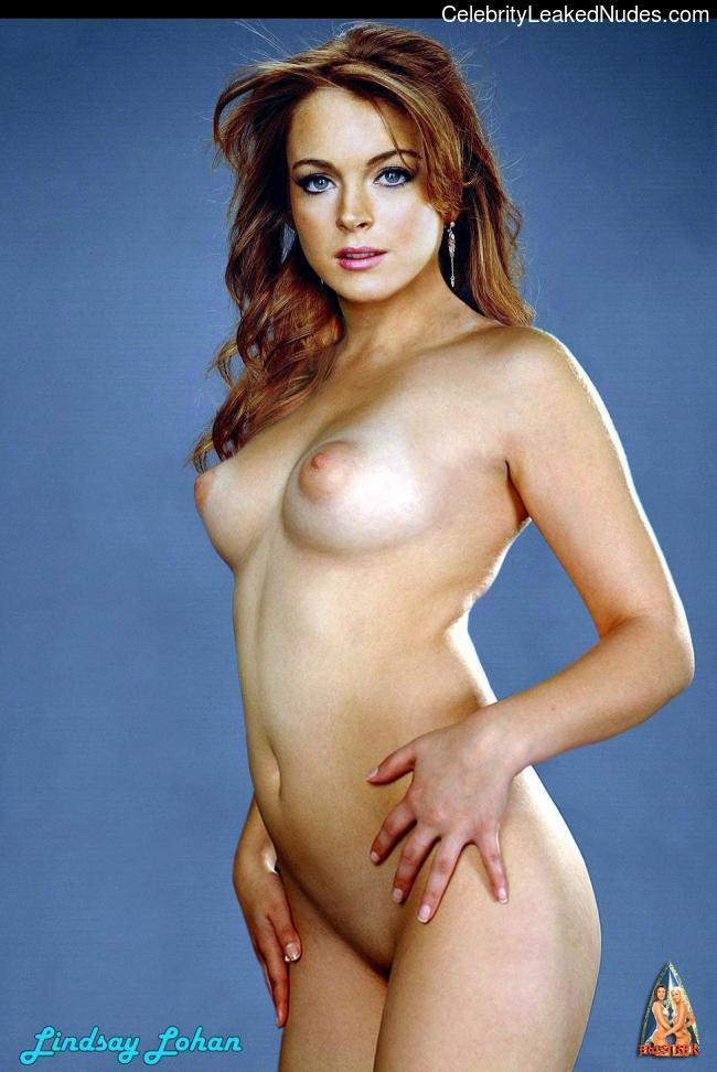 Leaked pics nude lohan lindsay