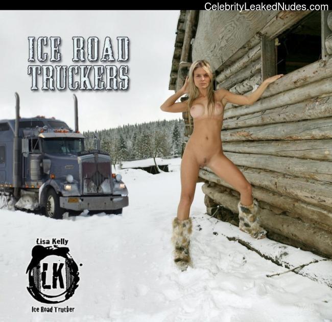lisa kelly ice road truckers nude